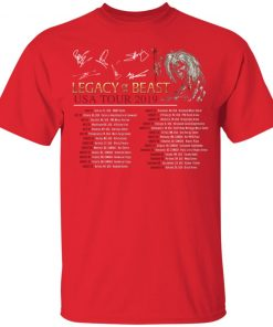 Private: Legacy of the Beast Tour Youth T-Shirt
