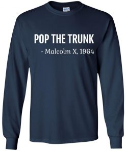 Private: Pop The Trunk Malcolm X 1964 Youth LS T-Shirt
