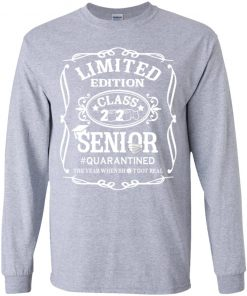 Private: Limited Edition class 2020 Senior Quarantined Youth LS T-Shirt
