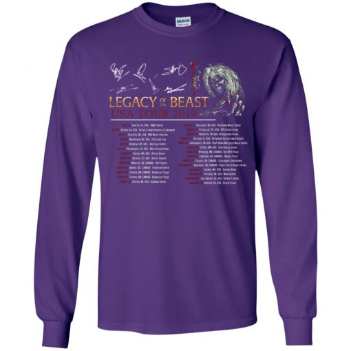 Private: Legacy of the Beast Tour Youth LS T-Shirt