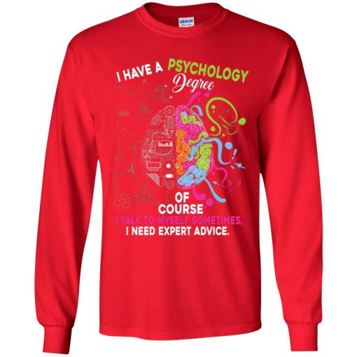 Private: I Have A Psychology Degree Youth LS T-Shirt