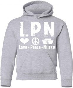 Private: Peace Love Nurse Youth Hoodie