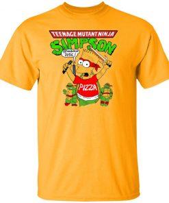 Private: Teenage Mutant Ninja Simpson Men's T-Shirt