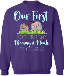 Private: Our First Mother's Day Mommy And Noah 2020 Sweatshirt
