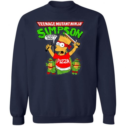 Private: Teenage Mutant Ninja Simpson Sweatshirt