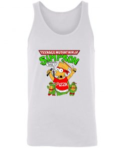 Private: Teenage Mutant Ninja Simpson Unisex Tank