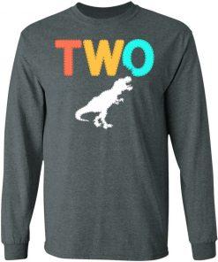 Private: Dinosaur 2nd Birthday LS T-Shirt