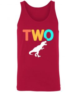 Private: Dinosaur 2nd Birthday Unisex Tank