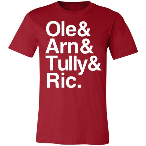 Private: Ric & Arn & Tully & Ole Unisex Jersey Tee