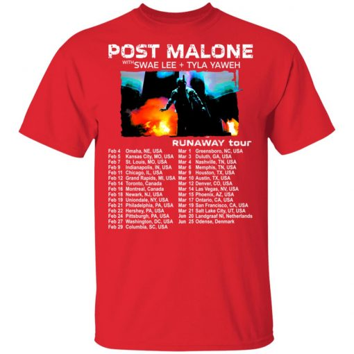 Private: POST MALONE Runaway Tour 2020 Men's T-Shirt
