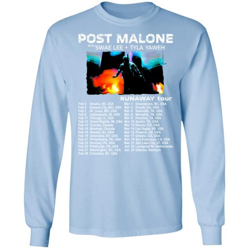 Private: POST MALONE Runaway Tour 2020 LS T-Shirt