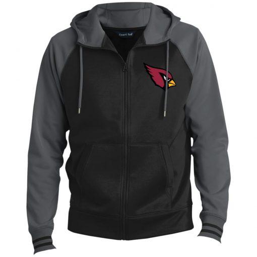Private: Arizona Cardinals Men's Sport-Wick® Full-Zip Hooded Jacket