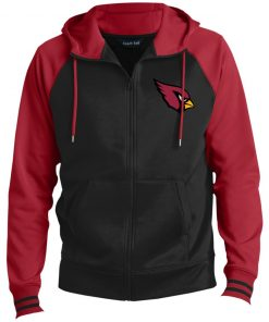 Private: Arizona Cardinals Men's Sport-Wick® Full-Zip Hooded Jacket