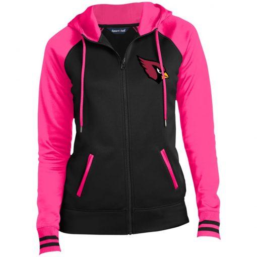 Private: Arizona Cardinals Ladies' Moisture Wick Full-Zip Hooded Jacket