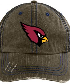 Private: Arizona Cardinals Distressed Unstructured Trucker Cap