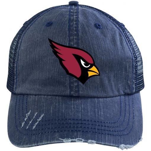 Private: Arizona Cardinals Distressed Unstructured Trucker Cap