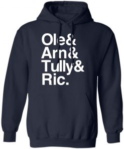 Private: Ric & Arn & Tully & Ole Hoodie