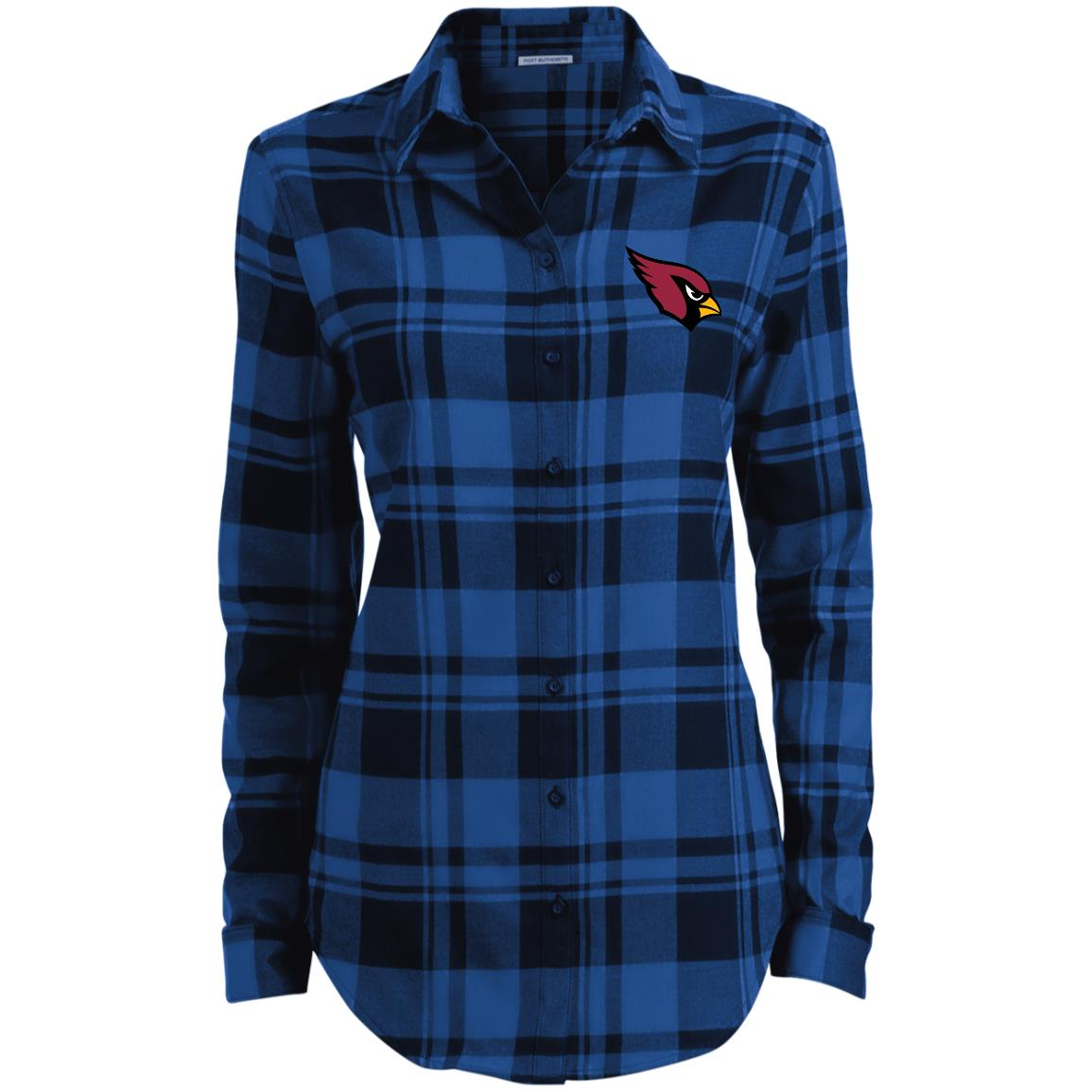 Private: Arizona Cardinals Ladies' Plaid Flannel Tunic