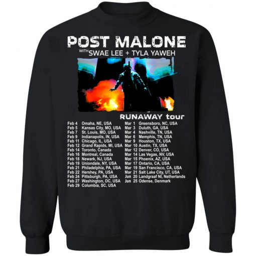 Private: POST MALONE Runaway Tour 2020 Sweatshirt