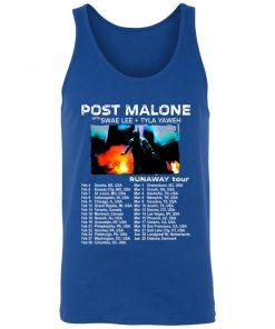 Private: POST MALONE Runaway Tour 2020 Unisex Tank