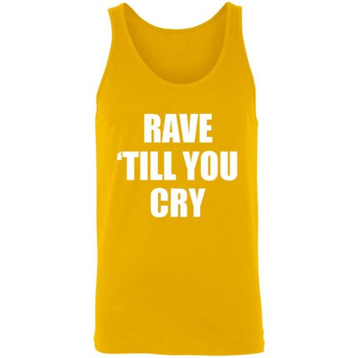 Private: Rave Till You Cry Unisex Tank
