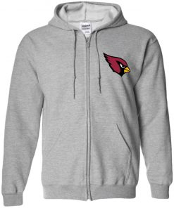 Private: Arizona Cardinals Zip Up Hooded Sweatshirt