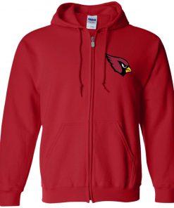 Private: Arizona Cardinals Zip Up Hooded Sweatshirt