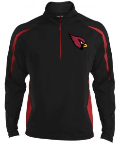 Private: Arizona Cardinals Men's Sport Wicking Colorblock 1/2 Zip