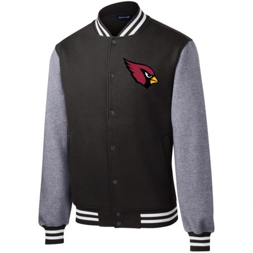 Private: Arizona Cardinals Fleece Letterman Jacket