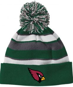 Private: Arizona Cardinals Striped Beanie with Pom