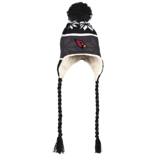 Private: Arizona Cardinals Hat with Ear Flaps and Braids