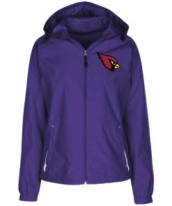 Private: Arizona Cardinals Ladies' Jersey-Lined Hooded Windbreaker