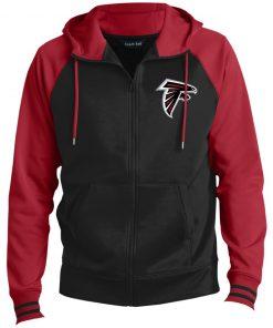 Private: Atlanta Falcons Men's Sport-Wick® Full-Zip Hooded Jacket