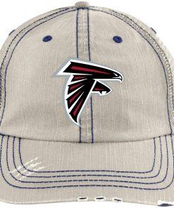 Private: Atlanta Falcons Distressed Unstructured Trucker Cap
