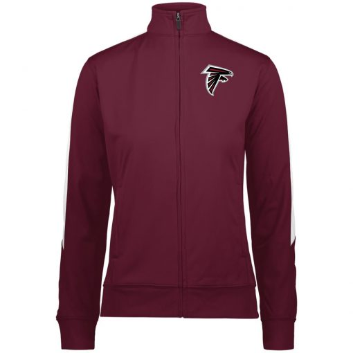 Private: Atlanta Falcons Ladies' Performance Colorblock Full Zip