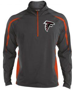 Private: Atlanta Falcons Men's Sport Wicking Colorblock 1/2 Zip