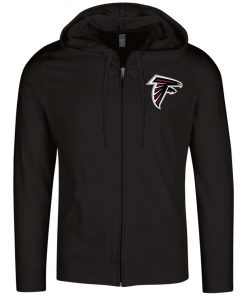Private: Atlanta Falcons Lightweight Full Zip Hoodie