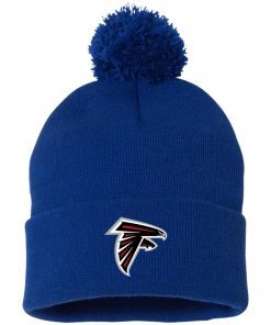 Private: Atlanta Falcons Pom Pom Knit Cap