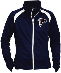 Private: Atlanta Falcons Ladies' Raglan Sleeve Warmup Jacket