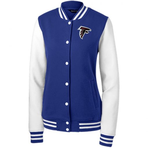 Private: Atlanta Falcons Women's Fleece Letterman Jacket