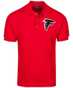 Private: Atlanta Falcons Cotton Pique Knit Polo