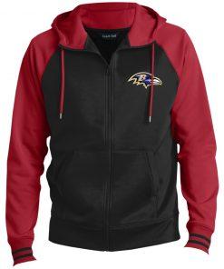 Private: Baltimore Ravens Men's Sport-Wick® Full-Zip Hooded Jacket