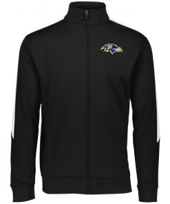 Private: Baltimore Ravens Performance Colorblock Full Zip