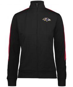 Private: Baltimore Ravens Ladies' Performance Colorblock Full Zip