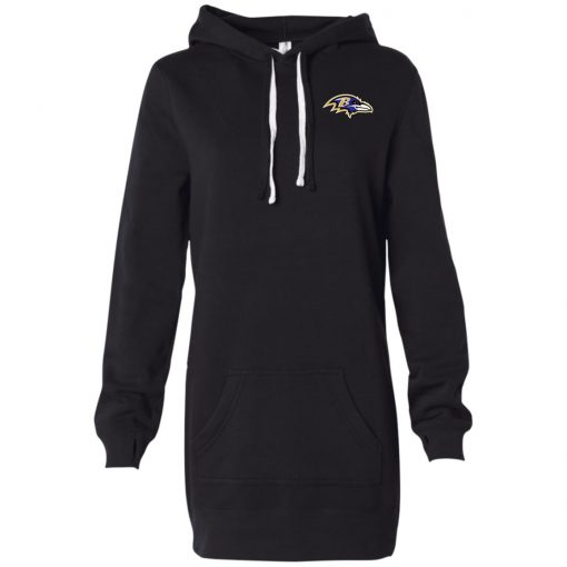 Private: Baltimore Ravens Women's Hooded Pullover Dress