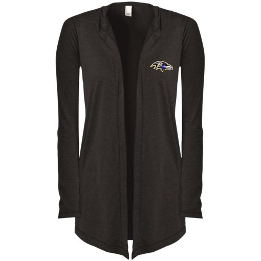 Private: Baltimore Ravens Women's Hooded Cardigan