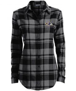 Private: Baltimore Ravens Ladies' Plaid Flannel Tunic