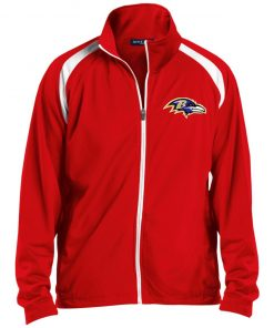 Private: Baltimore Ravens Men's Raglan Sleeve Warmup Jacket