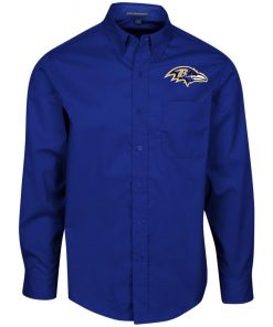 Private: Baltimore Ravens Men's LS Dress Shirt