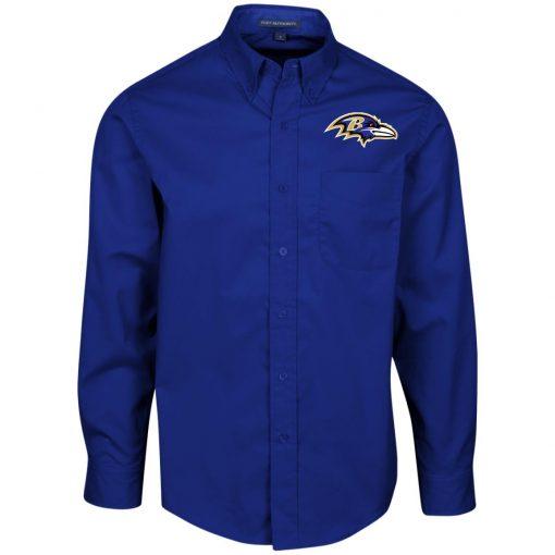 Private: Baltimore Ravens Men's LS Dress Shirt